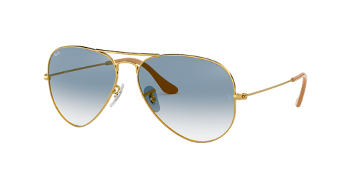 Ray-Ban RB3025 AVIATOR GRADIENT 58 AVIATOR