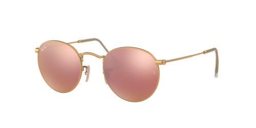 Ray-Ban RB3447 ROUND FLASH LENSES 50 ROUND