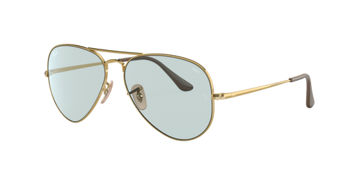 Ray-Ban RB3689 SOLID EVOLVE 58 AVIATOR