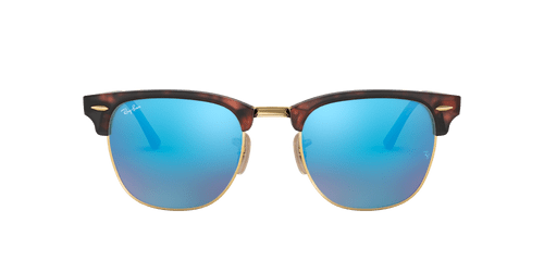 Ray-Ban RB3016 CLUBMASTER FLASH LENSES 51 CLUBMASTER