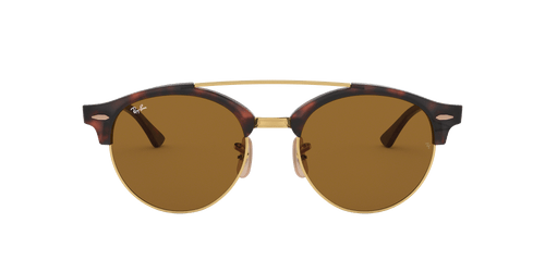 Ray-Ban RB4346 CLUBROUND DOUBLE BRIDGE 51 CLUBMASTER