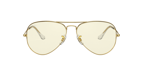 Ray-Ban RB3025 AVIATOR CLEAR EVOLVE 58 AVIATOR