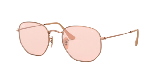 Ray-Ban RB3548N HEXAGONAL WASHED EVOLVE 51 I-SHAPE